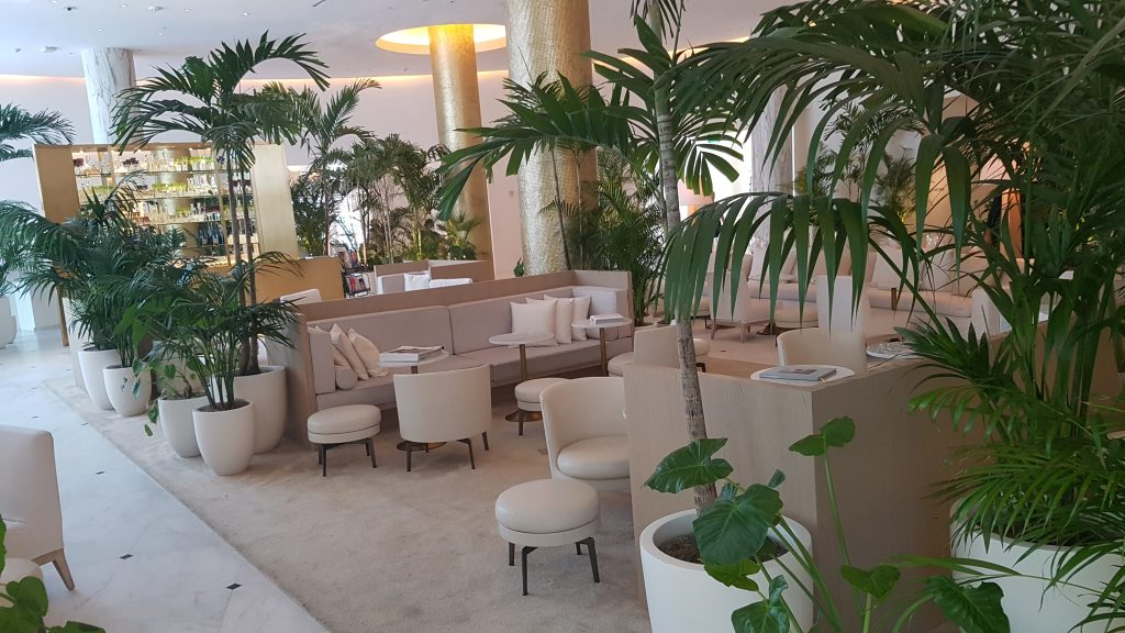Miami Beach Edition Hotel reception