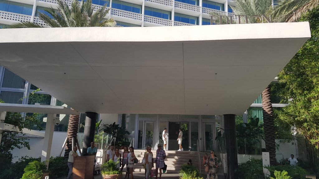 Miami Beach Edition Hotel entrance