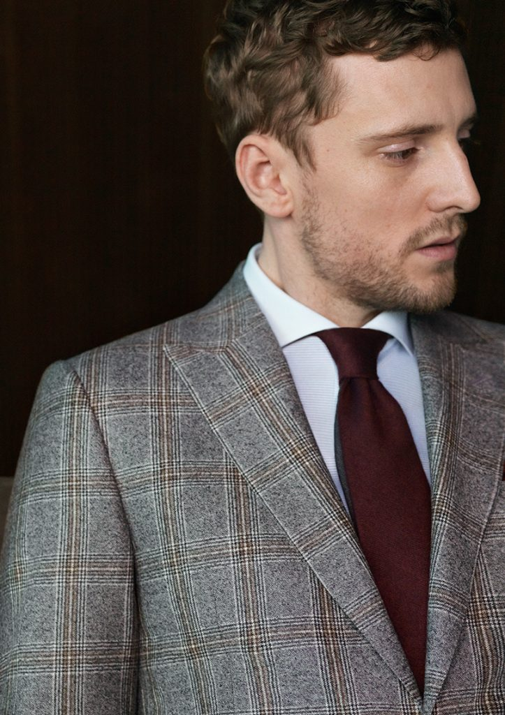 Maketh-the-man-Canali-Checked-Blazer
