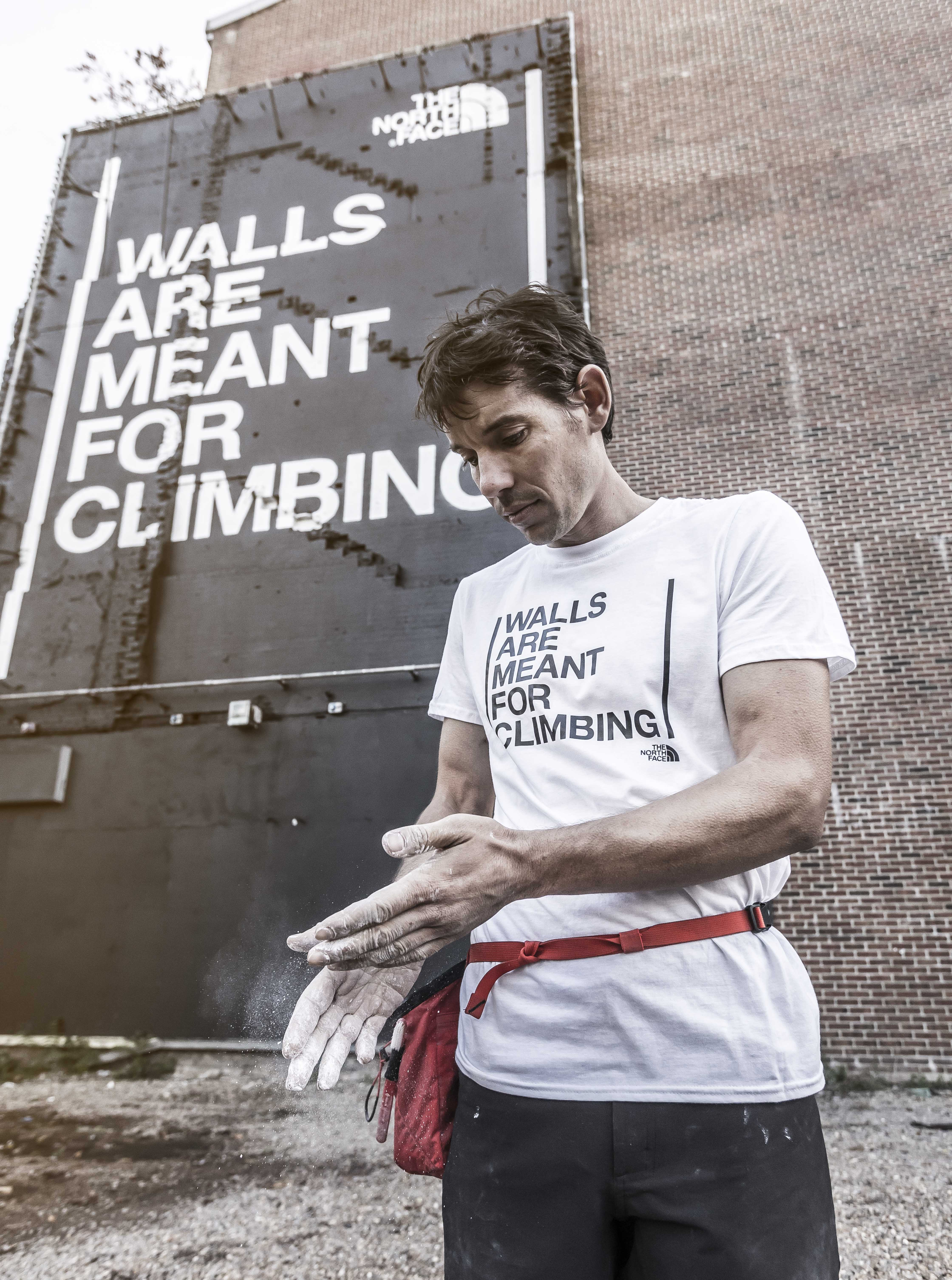 Build The Bear: The North Face Say Walls Are Meant For Climbing