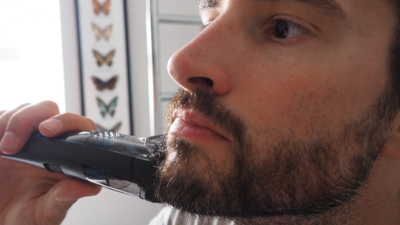 baard trimmen hals