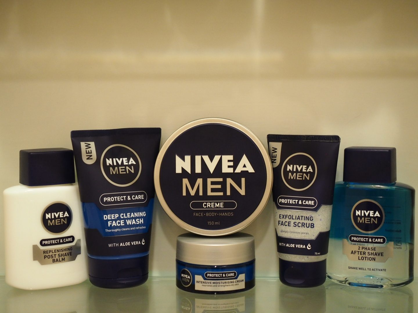 nivea men face care cream