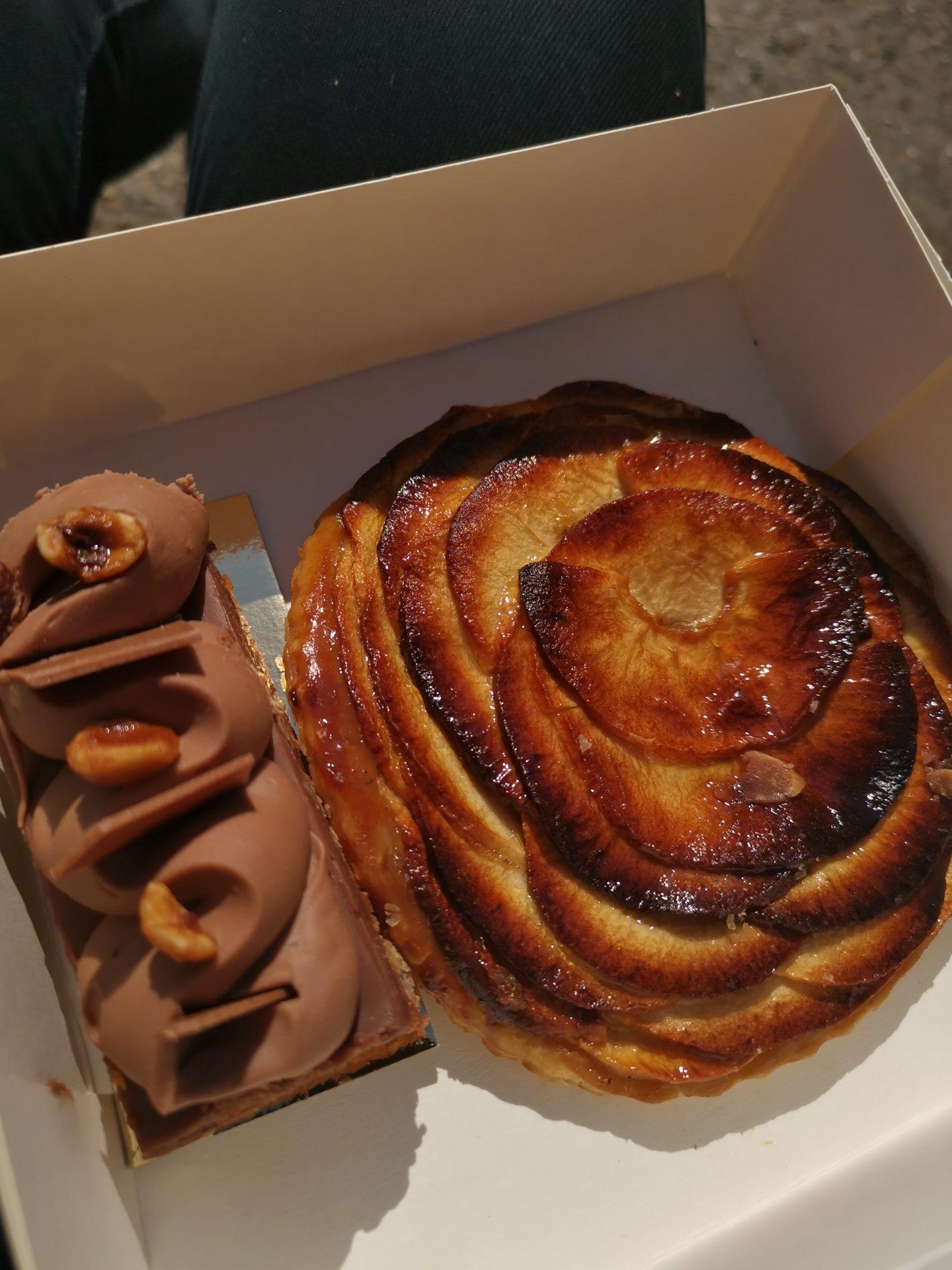 Pastry tarte tatin