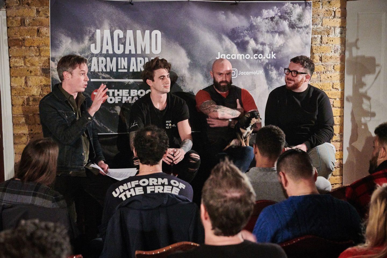 Maketh-the-Man-Anton_Welcome-jacamo arm in arms 27th november talks
