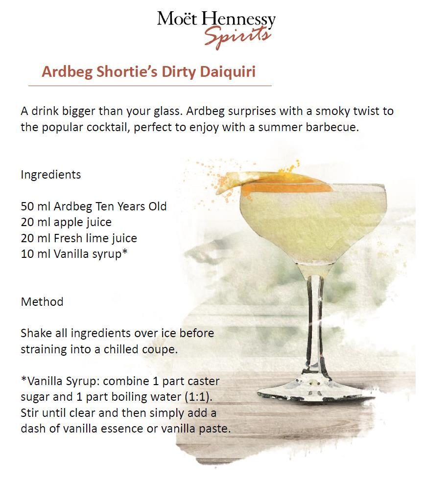 Ardbeg Shorte's Dirty Daiquiri