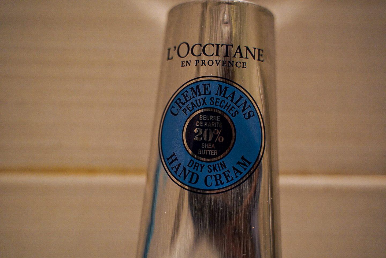 LOccitane en Provence Shea Butter Hand Cream close up