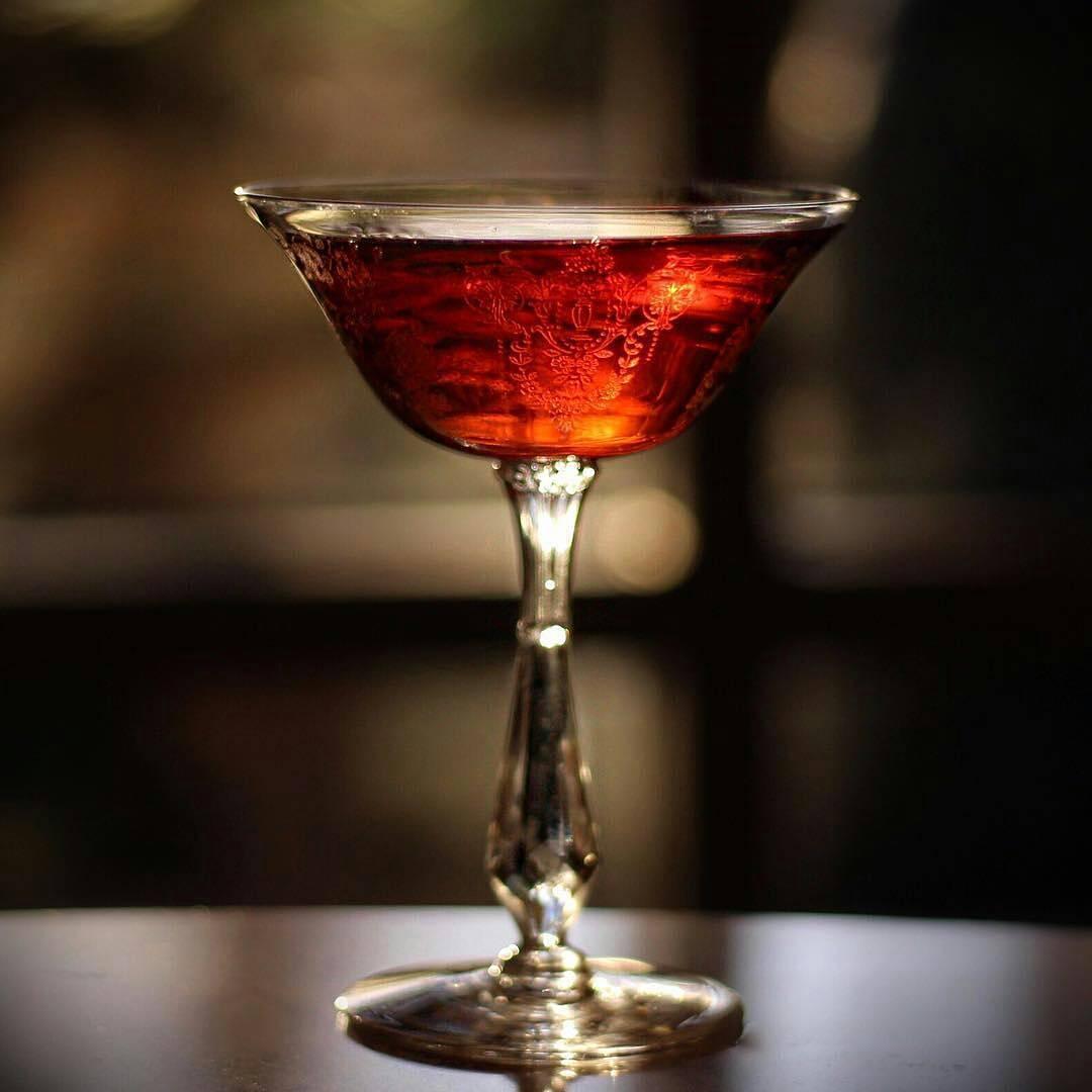 Sazerac with Catoctin Rye whiskey