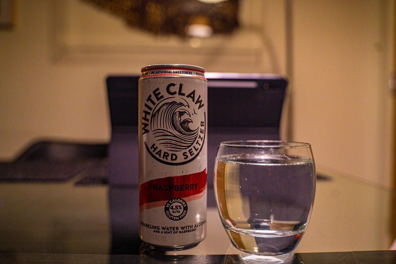 White Claw Hard Seltzer - served