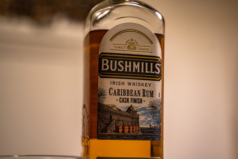 Bushmills - label