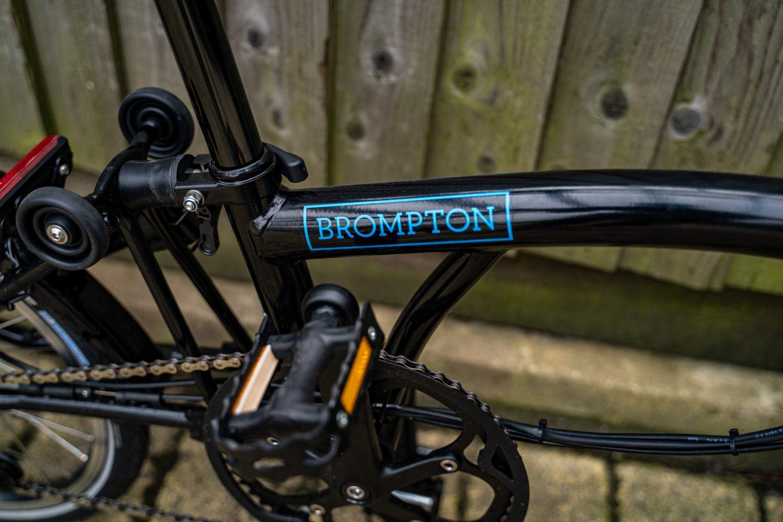 Brompton E-bike-frame